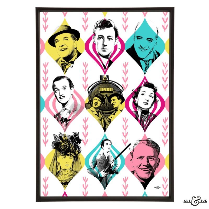 Ealing Comedies Repertory pop art print by Art & Hue