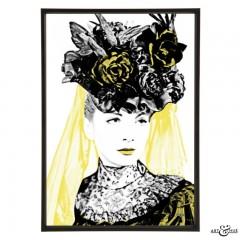 Joan Greenwood in Kind Hearts & Coronets - pop art by Art & Hue