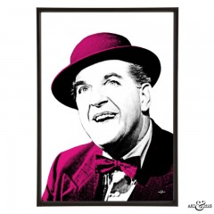 Stanley Holloway in The Lavender Hill Mob - pop art by Art & Hue
