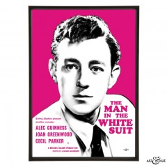 Alec Guinness in The Man in the White Suit - pop art by Art & Hue
