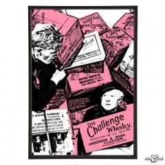 Whisky Galore pop art by Art & Hue with Gordon Jackson