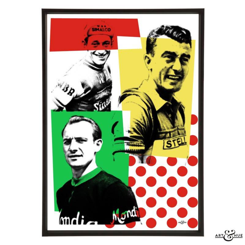 1953 Winners pop art print by Art & Hue
