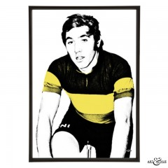 Eddy Merckx pop art print by Art & Hue