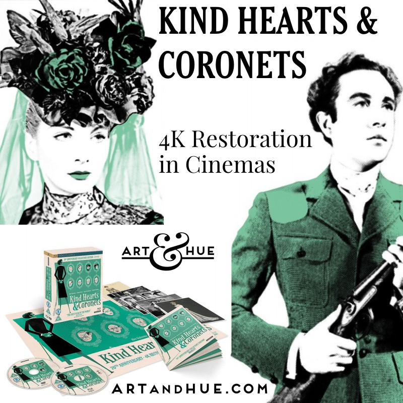 New 4k restoration of Kind Hearts & Coronets on Blu-ray by Studiocanal and the BFI