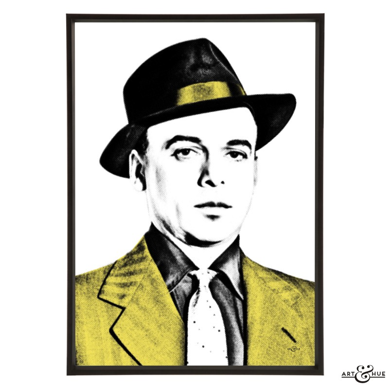 Herbert Lom stylish pop art print by Art & Hue