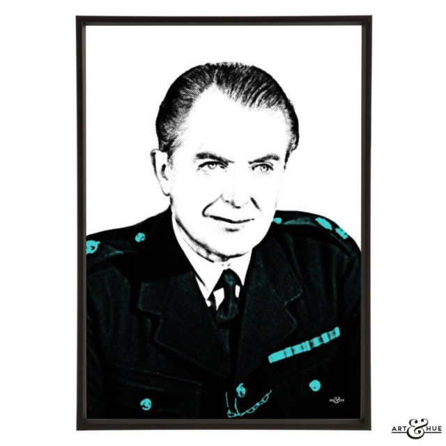 Jack Warner stylish pop art print by Art & Hue