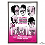 The Ladykillers Poster pop art print by Art & Hue