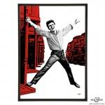 Busman's Holiday pop art print by Art & Hue
