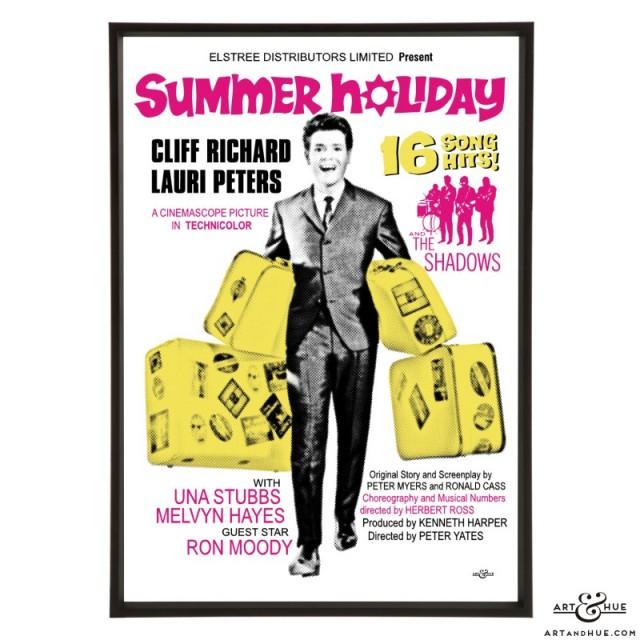 Summer Holiday pop art prints by Art & Hue