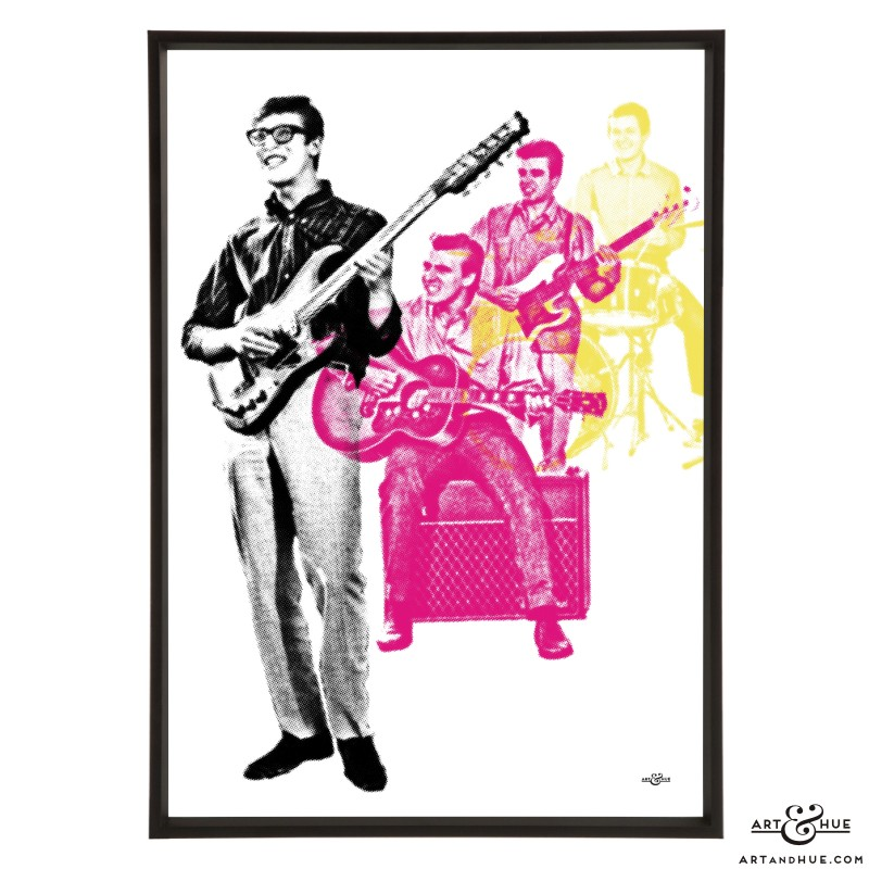 The Shadows pop art print by Art & Hue
