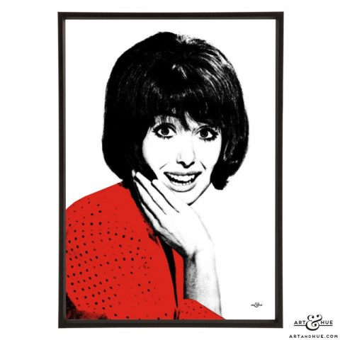 Una Stubbs pop art print by Art & Hue