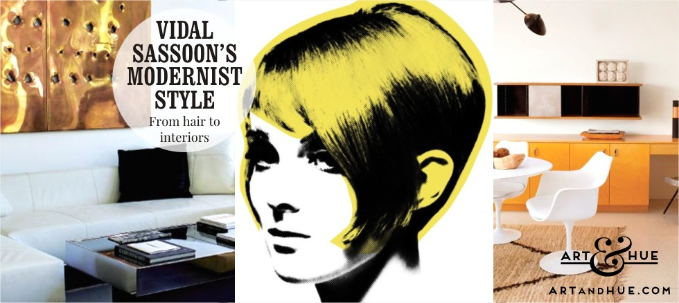 On the blog: Vidal Sassoon Modernist Style