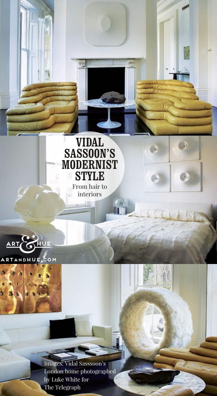 On the blog: Vidal Sassoon Modernist Style