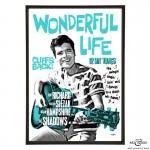 Wonderful Life pop art prints by Art & Hue
