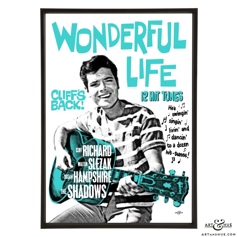 Wonderful Life pop art prints by Art & Hue