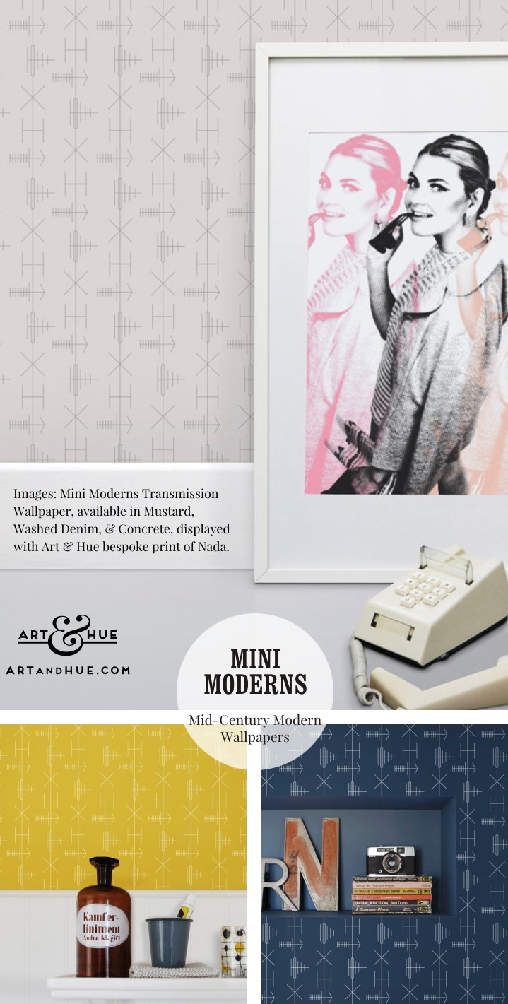 Transmission Wallpaper by Mini Moderns