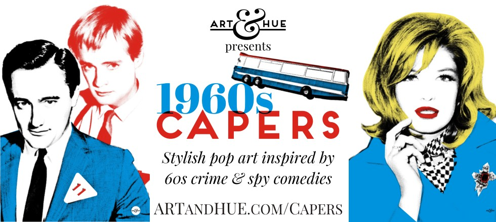 1960s Capers pop art by Art & Hue
