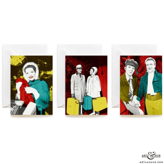The Avengers Christmas Cards trio by Art & Hue