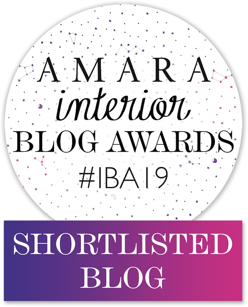 Art & Hue's been shortlisted in the Amara Interior Blog Awards!