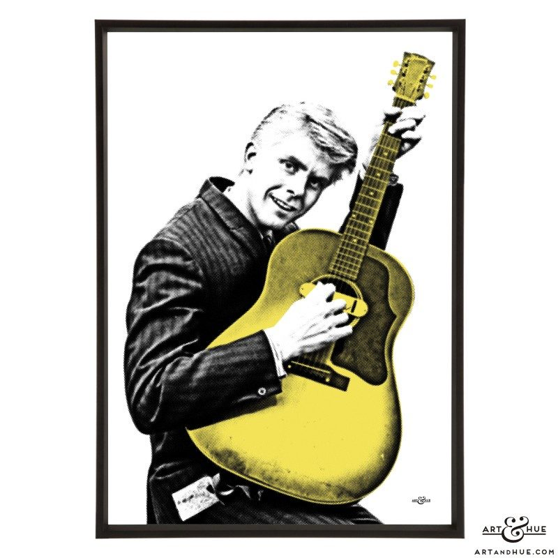 Joe Brown pop art print by Art & Hue