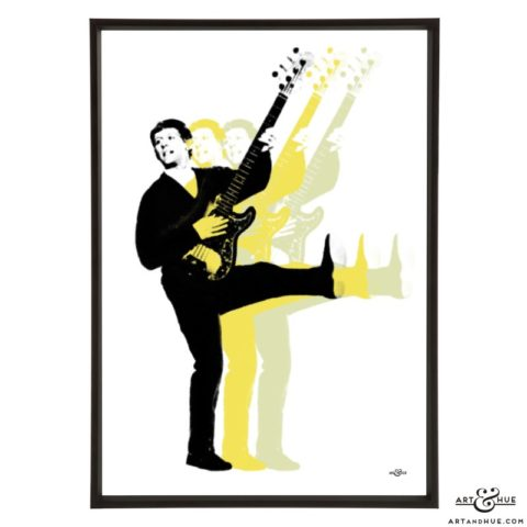 John Leyton pop art print by Art & Hue