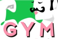 GYM pop art