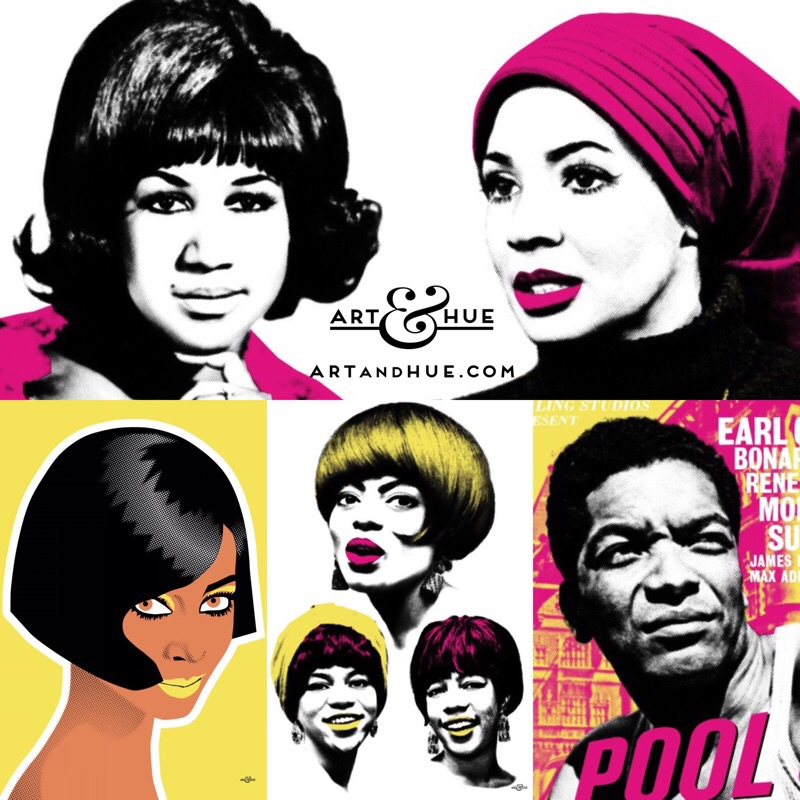 Black History Month pop art