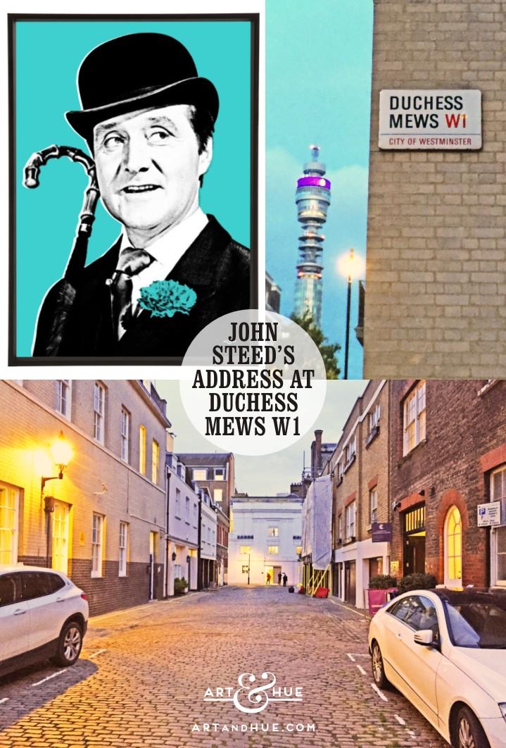 John Steed's Address at Duchess Mews London W1