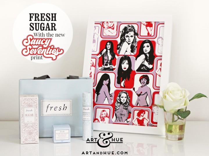 Fresh Sugar Saucy Seventies Wallpaper