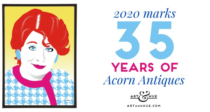 2020 marks 35 years of Acorn Antiques