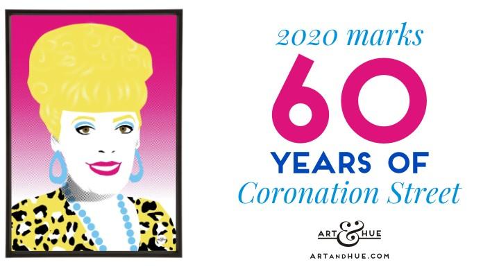 2020 marks 60 years of Coronation Street