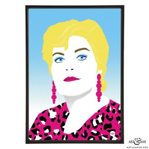 Pam St Clement Pop Art print by Art & Hue