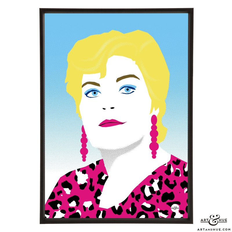Pam St Clement Pop Art print by Art & Hue