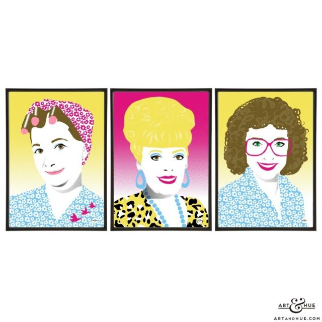 Weatherfield trio of Coronation Street soap queens by Art & Hue