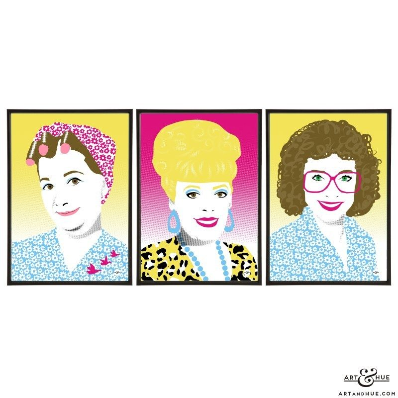 Weatherfield trio of Coronation Street soap queens by Art & Hue