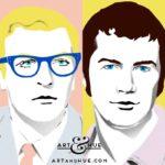 Michael Caine & Lewis Collins
