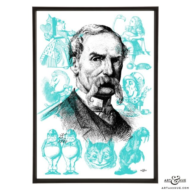 John Tenniel pop art by Art & Hue