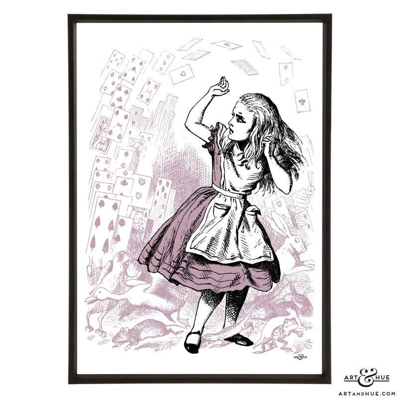 Pack of Cards Alice pop art print by Art & Hue