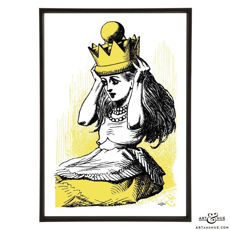 Queen Alice pop art by Art & Hue