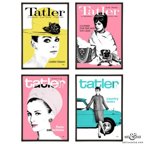 Tatler pop art group by Art & Hue