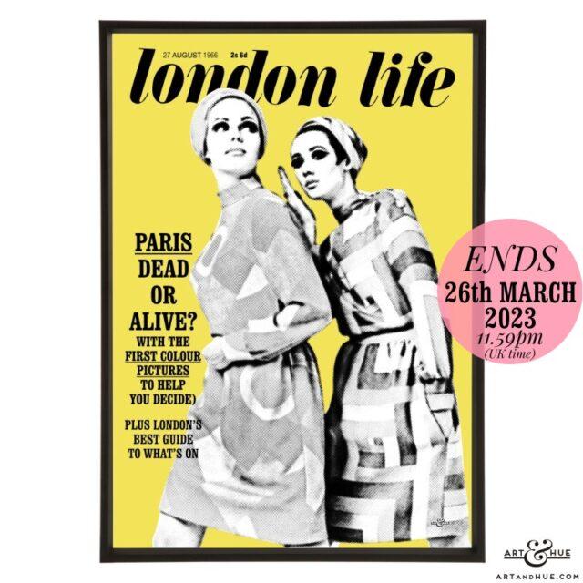London Life August 1966 pop art by Art & Hue