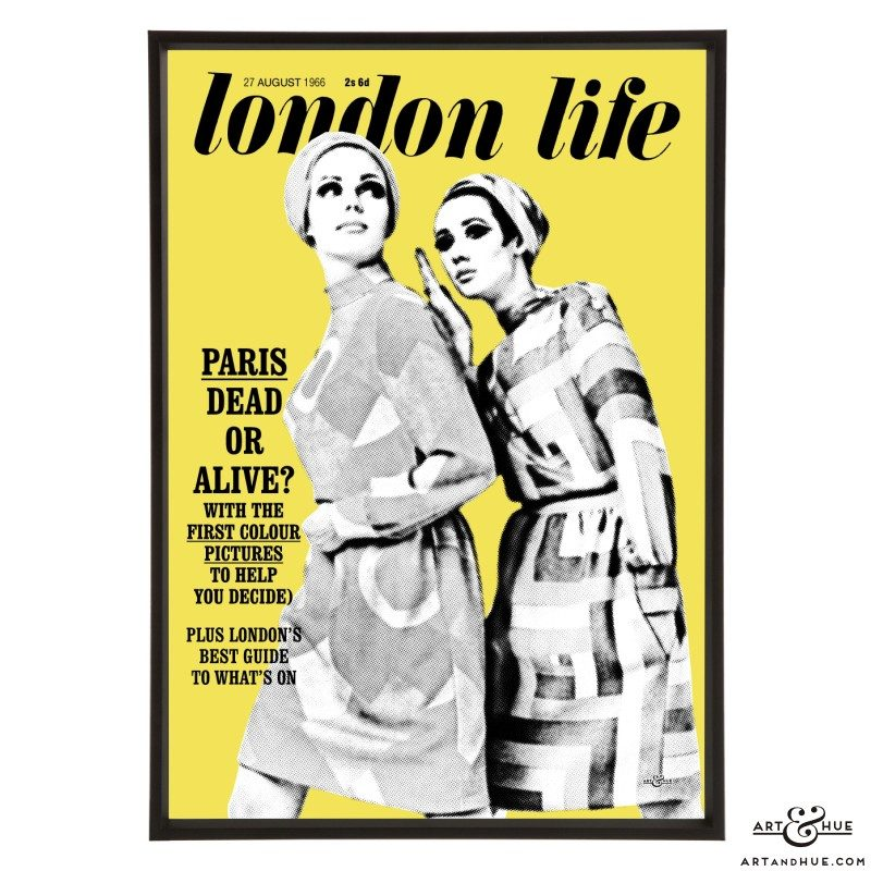 London Life August 1966 pop art by Art & Hue
