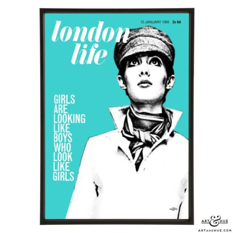 London Life January 1966 pop art by Art & Hue
