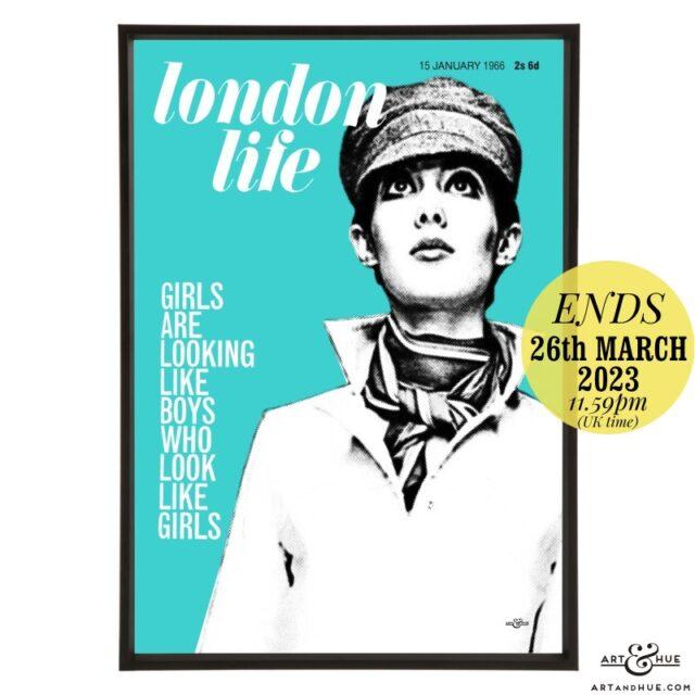 London Life January 1966 pop art by Art & Hue