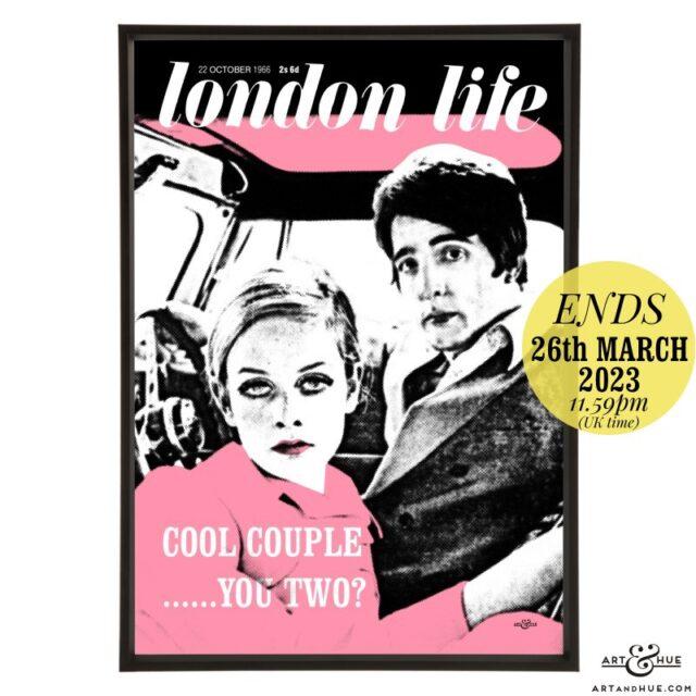 London Life October 1966 pop art by Art & Hue