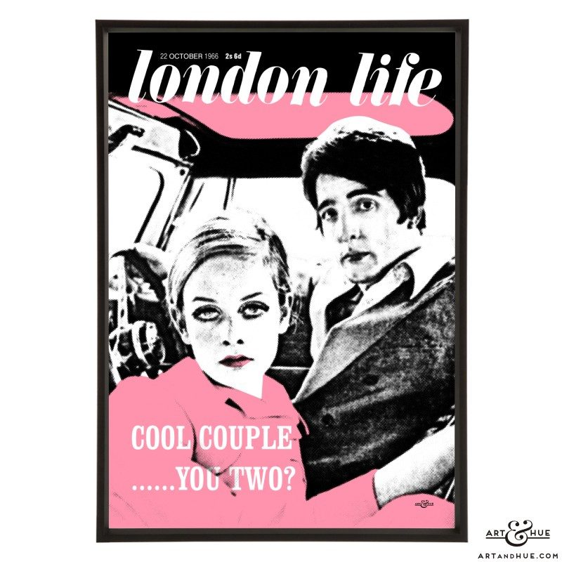 London Life October 1966 pop art by Art & Hue