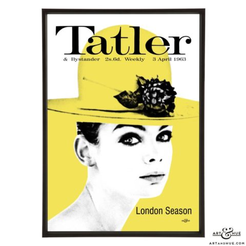 Tatler April 1963 pop art by Art & Hue