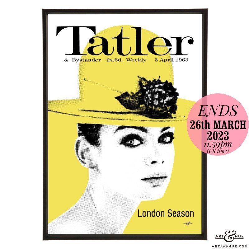 Tatler April 1963 pop art by Art & Hue