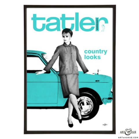 Tatler March 1965 pop art by Art & Hue