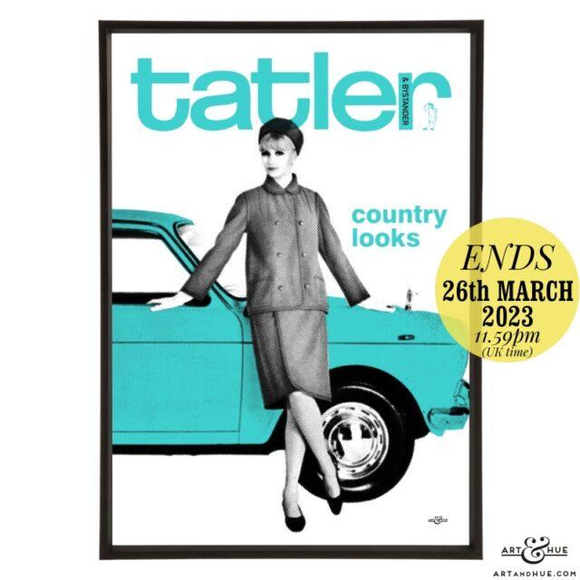 Tatler March 1965 pop art by Art & Hue